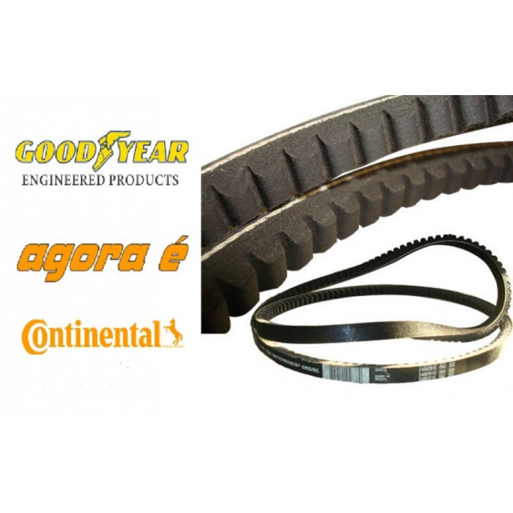 Correia Dentada Industrial XPA2650 Continental Contitech
