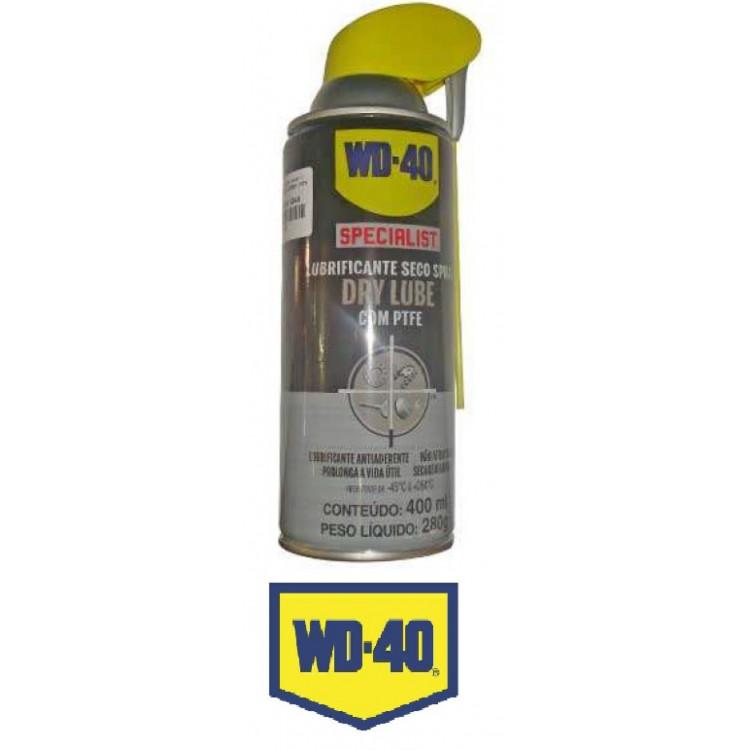 Lubrificante Seco com  Ptfe Wd40 Dry Lube 400ML
