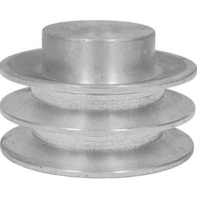 Polia de Alumínio 2 Canal B 400mm