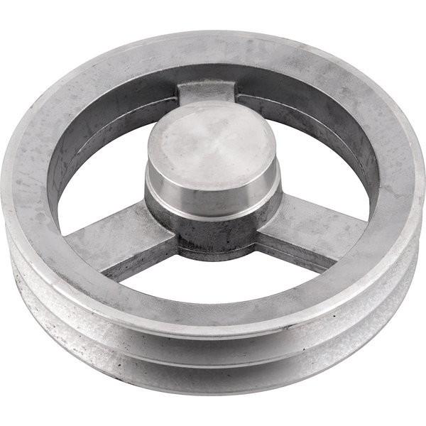 Polia de Alumínio 2 Canal B 150mm